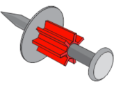 8mm Drive Pin Washered