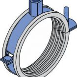 Acoustic Pipe Clips