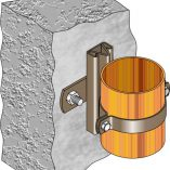 FMGR002 Gas Riser Guide - Wall Mount