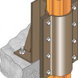 FMGR005 Gas Riser Anchor - Floor Mount