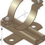 Light Duty Slide Guides for Copper Pipe