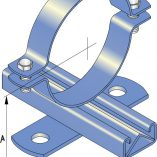Light Duty Slide Guides for Steel Pipe