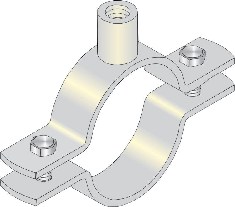 Nut Clip PVC Pipe