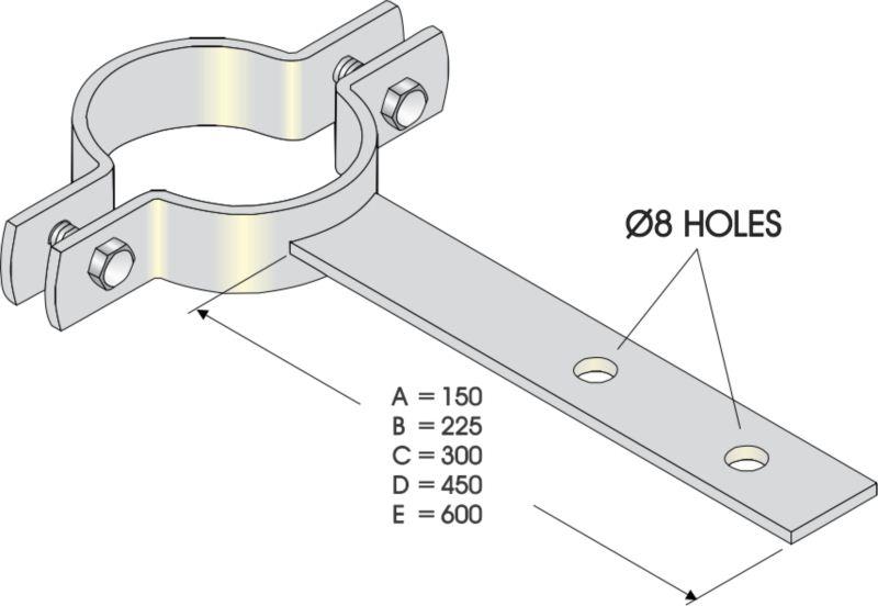 Shank Clips - PVC
