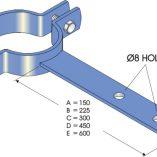Shank Clips - Steel