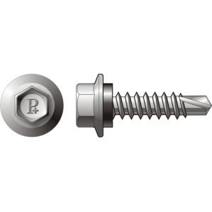 HEX HEAD SELF DRILLING SCREW WITH NEO CLASS 4
